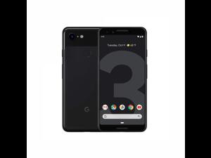 "Google Pixel 3 XL 128GB Unlocked 4G LTE 6.3"" P-OLED Display 4GB RAM 12.2MP Rear & Dual 8MP+8MP Front Camera Phone - Just Black"