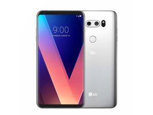 "LG V30 64GB H932 T-Mobile 4G LTE 6"" P-OLED Display 4GB RAM Dual 16MP+13MP Smartphone - Cloud Silver"