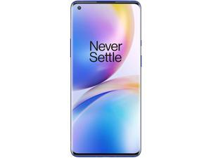 "OnePlus 8 Pro IN2020 256GB Dual SIM 6.78"" Fluid AMOLED QHD+ Capacitive Display GSM Only 12GB RAM Quad Camera - Snapdragon 865 - Smartphone - International Version - Ultramarine Blue"