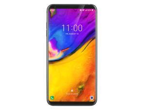 "OB LG V35 ThinQ 64GB V350AWM 6"" P-OLED Capacitive Touchscreen 6GB RAM 16MP Dual Rear Camera - Snapdragon 845 Flagship Processor - IP68 Resistant - GSM Unlocked Smartphone - Platinum Gray"