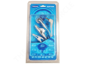 Samsung Ear Mic Mono 2.5mm Headphone Compatible With SGH-500, SGN-N400 - White