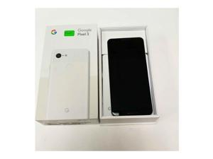 MINT Google Pixel 3 64GB Unlocked 4G LTE 5.5 in P-OLED Display 4GB RAM 12.2MP Camera Smartphone - Clearly White