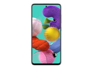 Samsung Galaxy A51 128GB A515F/DSN 6.5 in Super AMOLED Capacitive Display 4G VoLTE  8GB RAM Quad 48MP Camera, Android 10.0  Smartphone - Factory Unlocked - International Version - Prism Crush Black