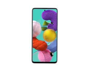 Samsung Galaxy A51 128GB A515F/DSN 6.5 in Super AMOLED Capacitive Display 4G VoLTE 8GB RAM Quad 48MP Camera, Android 10.0  Smartphone - Factory Unlocked - International Version - Prism Crush Blue