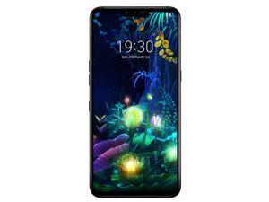 OB LG V50 ThinQ 5G 128GB LM-V450PM GSM Unlocked 6.4 in P-OLED Display 4G LTE 6GB RAM Triple 12 MP + 12 MP + 16 MP Camera Smartphone - Aurora Black