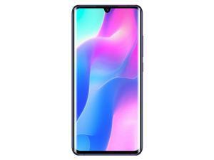 Xiaomi Mi Note 10 Lite 64GB Dual SIM 6.47 in AMOLED Display GSM Factory Unlocked 4G LTE 6GB RAM Quad Camera Smartphone - Nebula Purple - International Version