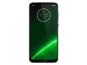 Motorola Moto G7 Plus 64GB XT1965-T Dual SIM GSM Factory Unlocked 4G LTE 6.2 in LTPS IPS LCD 4GB RAM Dual 16MP+5MP Camera Smartphone - Black
