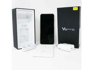 OB LG V60 ThinQ 5G LM-V600AM 128GB GSM Unlocked 6.8 in P-OLED Display 8GB RAM Triple 64MP + 13MP + 0.3 MP Camera Smartphone - Classy Blue