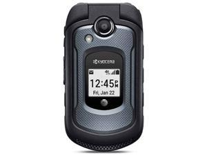 Kyocera DuraXe E4710 GSM Unlocked 4G LTE 2.6 in TFT Display 5MP Camera Rugged Flip Phone - Black
