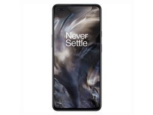 OnePlus Nord 128GB AC2001 GSM Factory Unlocked 4G VoLTE 6.44 in Fluid AMOLED Display 8GB RAM Quad Camera Smartphone - Grey onyx - International Version