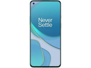 OnePlus 8T 5G 256GB Dual SIM KB2001 GSM Factory Unlocked 6.55 in Fluid AMOLED Display 12GB RAM Quad Camera Smartphone - Aquamarine Green
