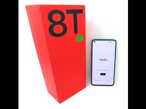 OB OnePlus 8T 5G 128GB Dual SIM KB2001 GSM Factory Unlocked 6.55 in Fluid AMOLED Display 8GB RAM Quad Camera Smartphone - Aquamarine Green