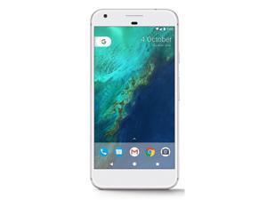 Google Pixel XL 128GB G-2PW2100 GSM + CDMA Factory Unlocked 4G LTE 5.5'' AMOLED Display 4GB RAM 12.3MP Camera Phone - Very Silver - USA Version