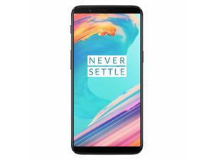 "OnePlus 5T 128GB A5010 GSM Factory Unlocked 4G LTE 6.01"" Optic AMOLED Display 8GB RAM Dual 16MP + 20MP Camera Phone - Midnight Black - International Version"