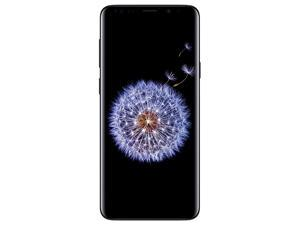 "Samsung Galaxy S9+ Plus 64GB G965U1 GSM Unlocked 4G LTE 6.2"" Super AMOLED 6GB RAM Dual 12MP Smartphone - Midnight Black - USA Warranty"