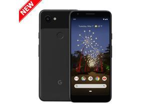 Google Pixel 3a, 64GB, 5.6'' Touch Screen Cell Phone(Unlocked) - Just Black