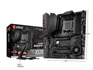 MSI MEG X570 UNIFY AM4 AMD X570 SATA 6Gb/s ATX AMD Motherboard Ryzen 3000