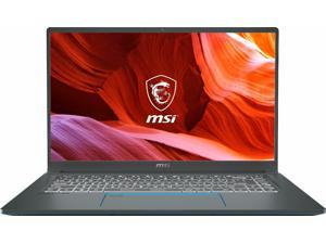 "MSI Laptop Prestige 15 A10SC-083 Intel Core i7 10th Gen 10710U (1.10 GHz) 16 GB Memory 512 GB NVMe SSD NVIDIA GeForce GTX 1650 15.6"" Windows 10 Pro 64-bit"
