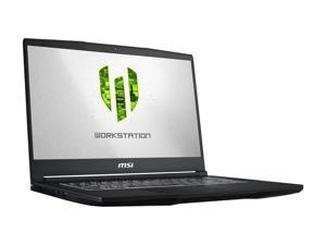 "MSI WP65 9TH-263 Mobile Workstation Intel Core i7 9th Gen 9750H (2.60 GHz) 16 GB Memory 512 GB NVMe SSD NVIDIA Quadro P620 15.6"" Windows 10 Pro 64-bit"