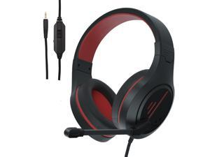 PS4 Gaming Headset, Stereo Gaming Headphone with Microphone Vibration for Laptop PC/Xbox one