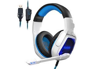 Anivia MH901 7.1 Wired PC Gaming Headset,PS4 Gaming Headset High sound sensitivity Headphone with Mic for New Xbox One/Mac
