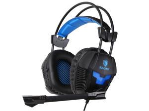 Sades SA921 Gaming Headsets 3.5mm Jack for PS4 Mac PC iPhone mobile Phone Laptop headphone with Microphone