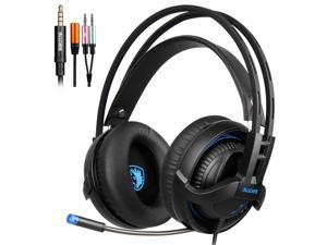 SADES SA-935 Gaming Headset Surround Sound Stereo With Mic 3.5MM Jack Multi-Platform Over-ear Headphones For New Xbox One/PC/PS4/Smartphones