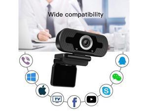 Anivia 720p HD Webcam W2, USB Desktop Laptop Camera, Mini Plug and Play Video Calling Computer Camera, Built-in Mic, Flexible Rotatable Clip