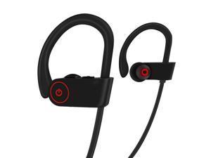 5a91ac26ce3 Bluetooth Wireless Headphones w/Mic, HD Stereo/IPX7 Waterproof/Secure Fit In