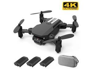 iGame FPV Foldable Mini Drone RC Quadcopter with 4K HD Camera + 3 Batteries