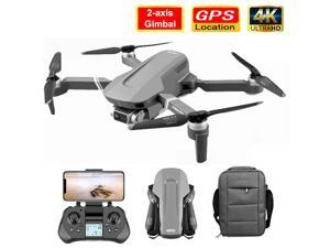 iGame WiFi 5G GPS Drone, 4K HD Mechanical Gimbal Camera, GPS System Supports, 32G TF Card Drones, Stabilier Distance 2km Flight 25 Min, 3 Batteries