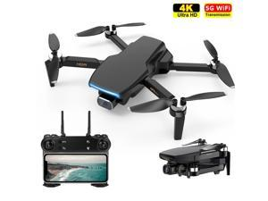 iGame GPS Drone With 4K HD Camera, 5G WiFi Brushless Motor FPV Portable Collapsible RC Quadcopter + 3 Batteries