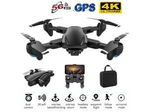 iGame Foldable RC Quadcopter GPS Drone with 5G WiFi FPV 4K Dual HD Camera Optical Flow