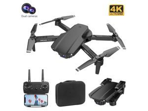 iGame Portable Collapsible RC Quadcopter WIFI FPV Mini Drone with 4K HD Dual Camera + 3 Batteries