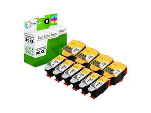 TCT Compatible Ink Cartridge Replacement for Kodak 30XL 30 XL High Yield works with Kodak ESP C110 C310 C315, Office 2150 Printers (Black, Tri-Color) - 10 Pack