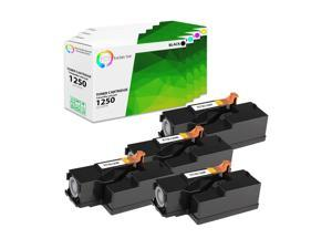 MS Imaging Supply Compatible Toner Replacement for Lexmark 80C1SK0 801SK Black, 4 Pack