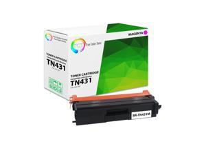 Compatible HL-L8260CDW HL-L8360CDW HL-L8360CDWT MFC-L8610CDW MFC-L8900CDW Laser Printer Toner Cartridge Magenta 2-Pack Replacement for Brother TN431 TN431M Printer Toner High Capacity