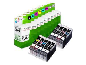TCT Compatible Ink Cartridge Replacement for Canon CLI-42 CLI42 works with Canon Pixma Pro-100 Printers (Black, Cyan, Magenta, Yellow, Photo Cyan, Photo Magenta, Gray, Light Gray) - 9 Pack