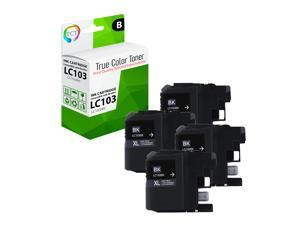 Smart Print Supplies Compatible 24 Series T109N 600 Pages 4 Pack 330-5287 Black High Yield Ink Cartridge Replacement for Dell P713w V715w Printers