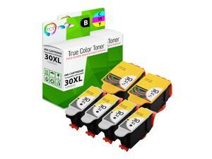 TCT Compatible Ink Cartridge Replacement for Kodak 30XL 30 XL High Yield works with Kodak ESP C110 C310 C315, Office 2150 Printers (Black, Tri-Color) - 6 Pack