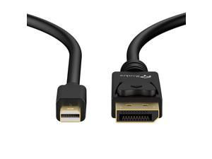 Mini DP to DP Cable, Rankie 6FT Gold Plated Mini DisplayPort to DisplayPort Cable 4K Resolution Ready