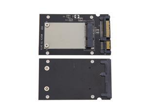 "Metal mSATA SSD to 2.5"" SATA Enclosure Converter Adapter Card SSD Case Tool"