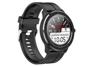 "1.28""Bluetooth Smart Bracelet Heart Rate Monitor Stopwatch Fitness Tracker Watch"