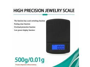 Mini Jewelry Scale Digital Pocket Scale Balance Weight Electronic 0.1/0.01g