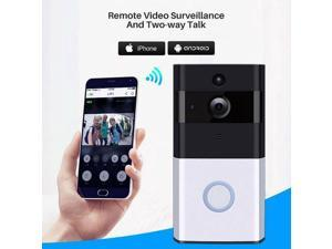 Ring Video Doorbell Pro 720P Wi-Fi Hard Wired Smart HD Camera with Night Vision