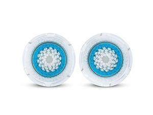 2X DEEP PORE Facial Brush Head Replacements Mia 1,2,3 Smart Fits All Clarisonic