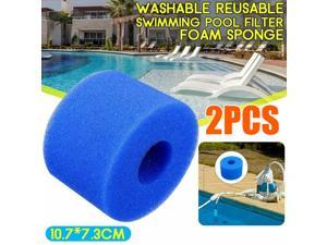 For Intex Pure Spa Reusable/Washable Foam Hot Tub Filter Cartridge (S1) Type