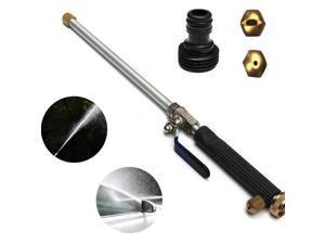 High Pressure Water Spray Gun Brass Nozzle Garden Hose Pipe Car Wash Washing US