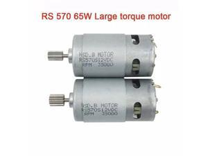 12V DC 35000 Rpm 65W Motor Traxxas RC and Power Wheels Toys Powerful High Speed