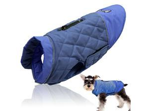 Dog Puffer Coat for Small Dogs Waterproof Pet Clothes Medium Jacket Jack Russell